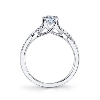 Diamond Engagement Ring 0.15 ct tw