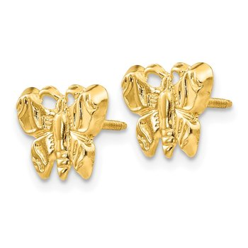 14k Madi K Butterfly Earrings