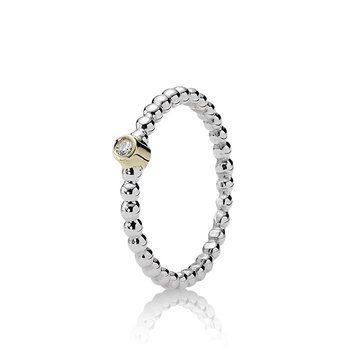 Evening Star Stackable Ring, Diamond