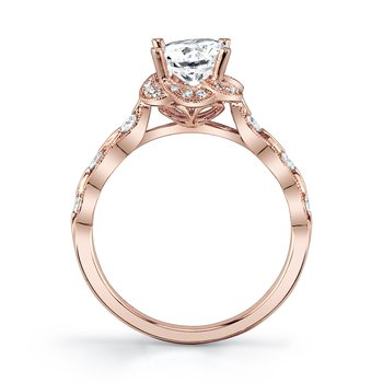 MARS 27157 Engagement Ring, 0.21 Ctw.
