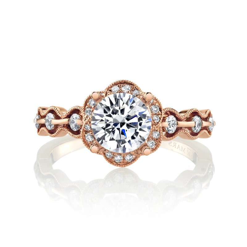 MARS Jewelry MARS 27157 Engagement Ring, 0.21 Ctw.