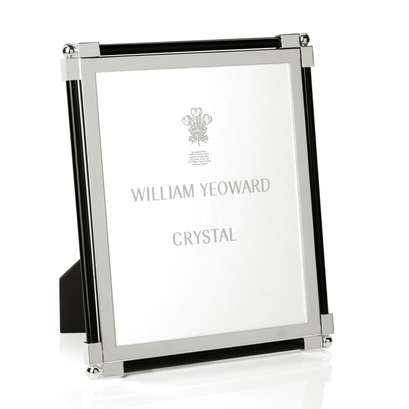 "William Yeoward Classic Glass Black 8"" x 10"""