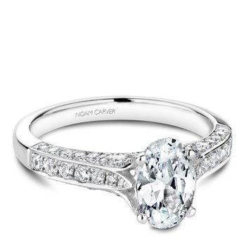 Noam Carver Fancy Engagement Ring B187-01A