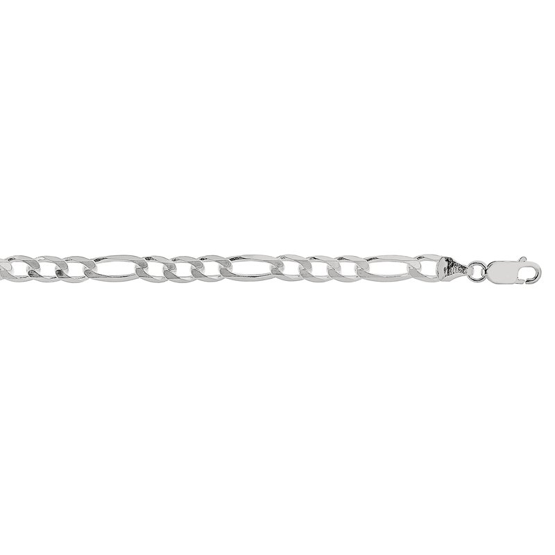 Royal Chain Silver 5.5mm Figaro Chain