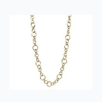 Jaipur Link Gold Small Gauge Convertible Necklace