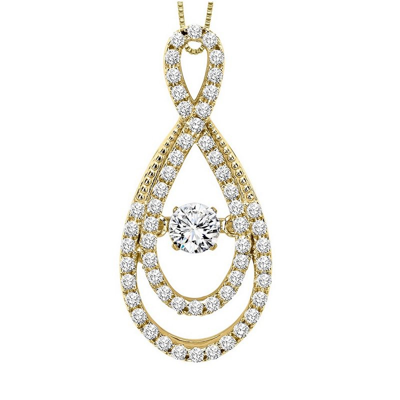 Kelley jewelers rhythm of love 14k diamond rhythm of love pendant 5 rhythm of love 14k diamond rhythm of love pendant 58 ctw aloadofball Images