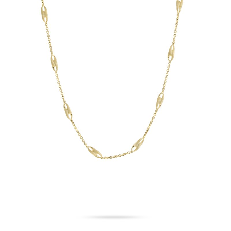 Marco Bicego Marco Bicego® Lucia Collection 18K Yellow Gold Link Necklace
