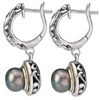 Eleganza Ladies Fashion Pearl Earrings
