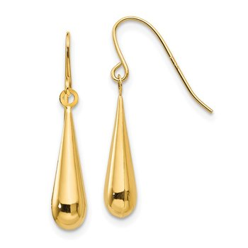 14k Madi K Teardrop Dangle Earrings