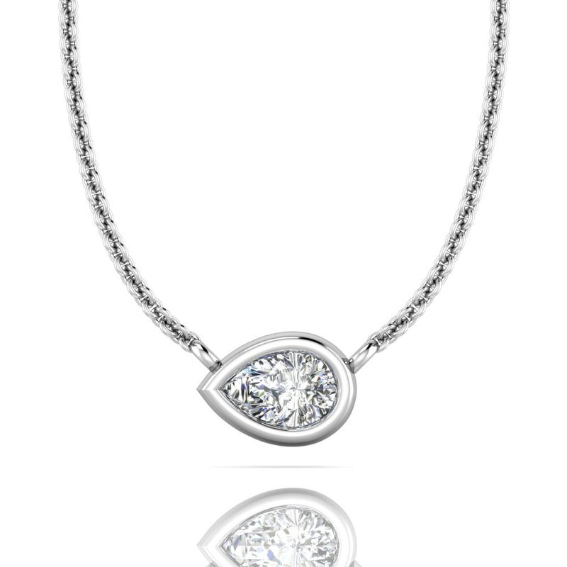 Forevermark Black Label The Forevermark Tribute™ Collection Pear Diamond Necklace
