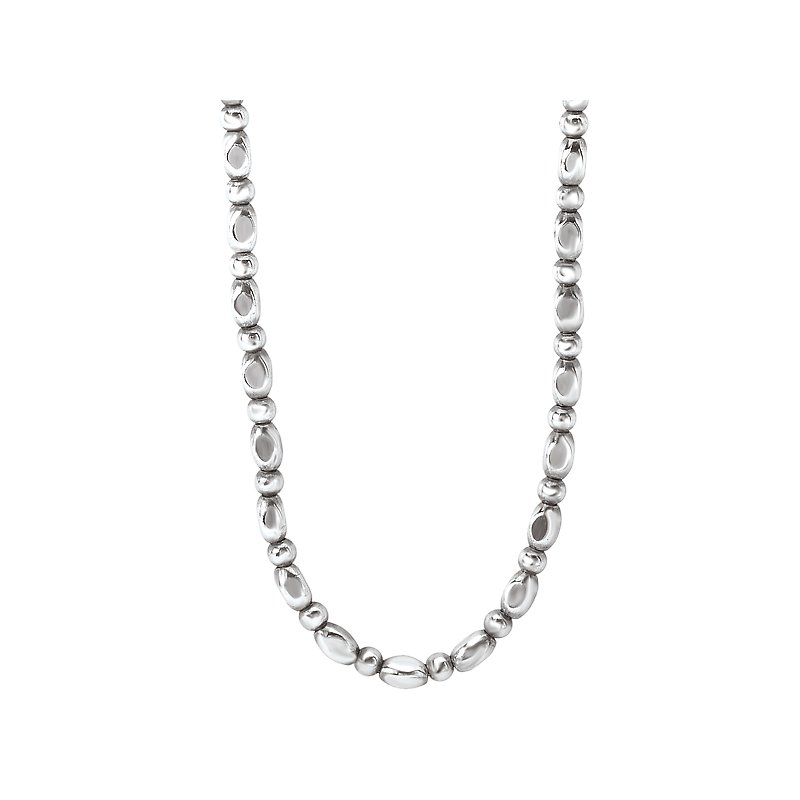 Eleganza Sterling Silver Bead Chain
