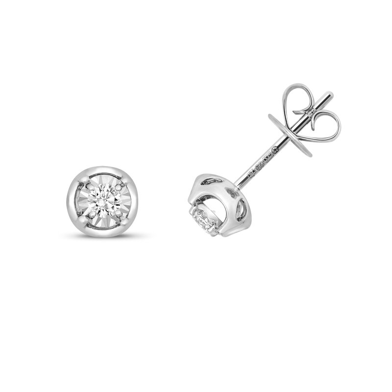 Treasure Diamond Illusion Studs