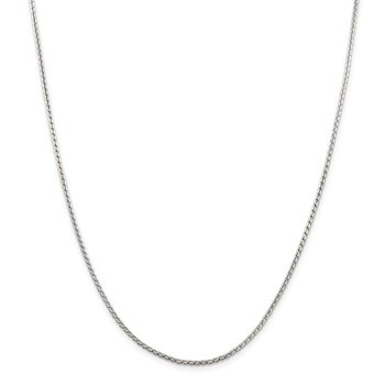 Sterling Silver 1.75mm Round Franco Chain