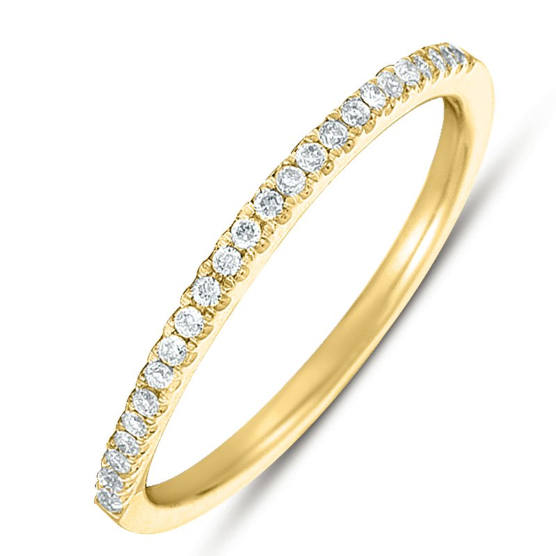 S. Kashi & Sons Bridal Yellowe Gold Matching Band