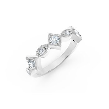 The Forevermark Tribute™ Collection Detailed Diamond Ring