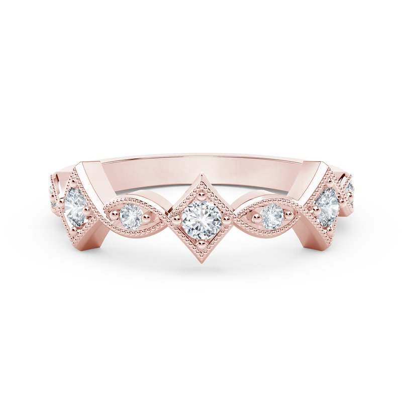 Forevermark The Forevermark Tribute™ Collection Detailed Diamond Ring
