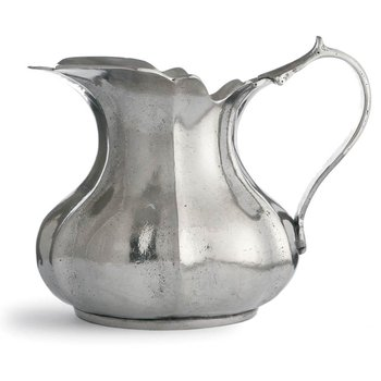 Small Scalloped Pitcher