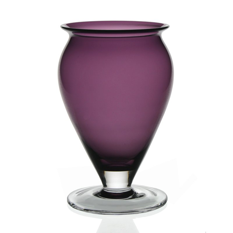 William Yeoward Amethyst Vase 8½""