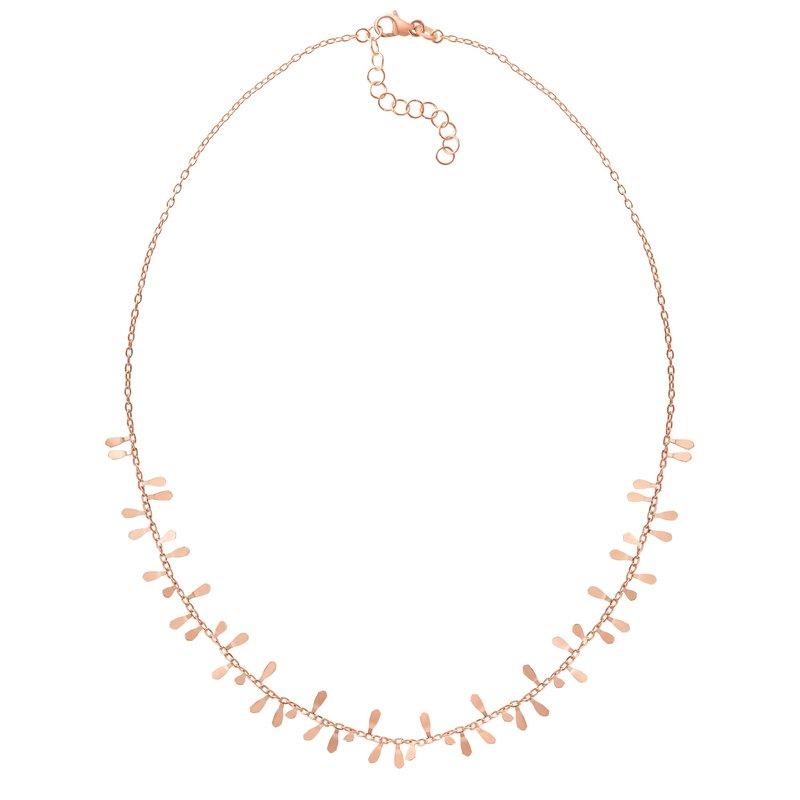 Royal Chain 14K Gold Flora Strand Necklace