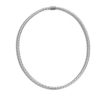 Dot 4.5MM Necklace in Silver