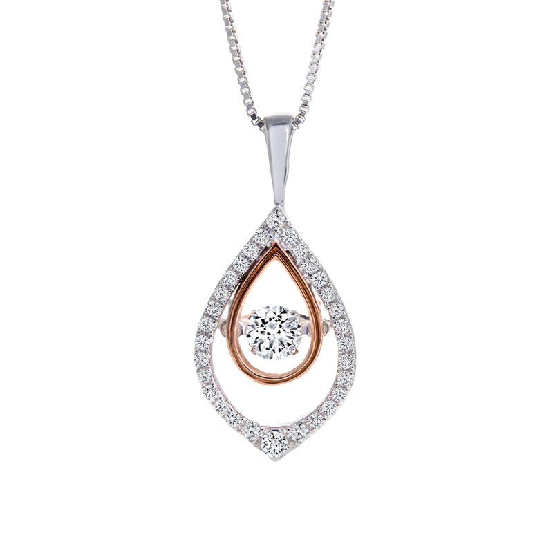 Canadian Rocks Shimmering Diamond Pendant