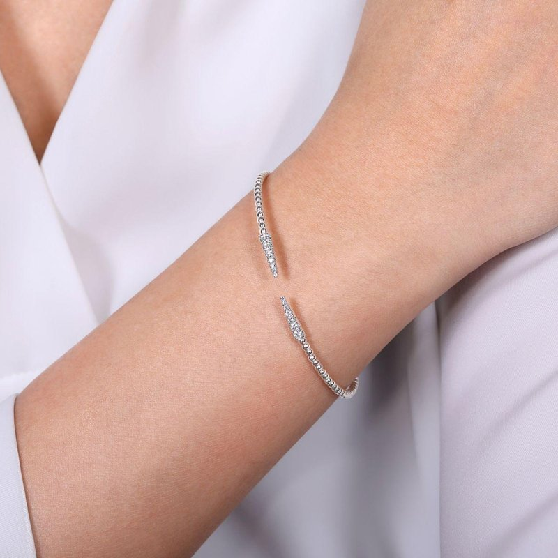 Amavida 14K White Gold Fashion Bangle