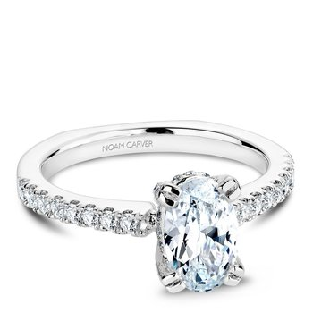 Noam Carver Fancy Engagement Ring B009-02A