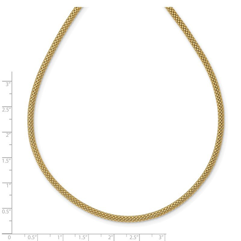14K Mesh Link Necklace