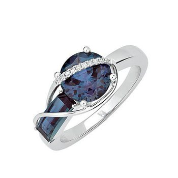 Alexandrite Ring-CR11881WAL