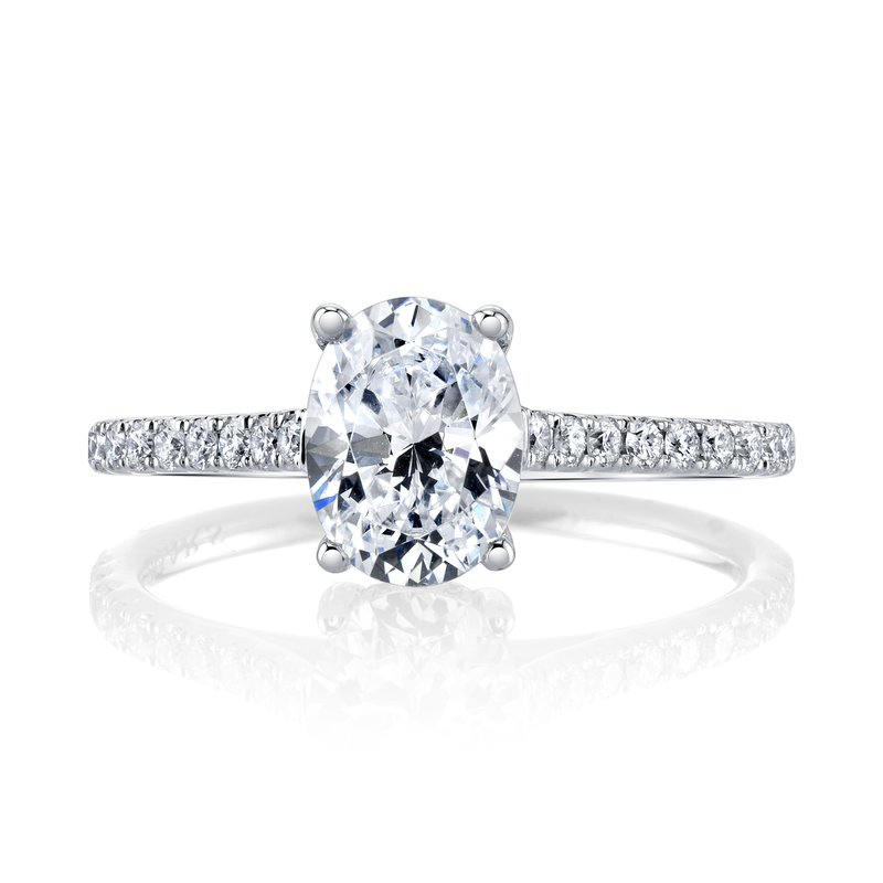 MARS Jewelry MARS 27039OV Engagement Ring, 0.27 Ctw.