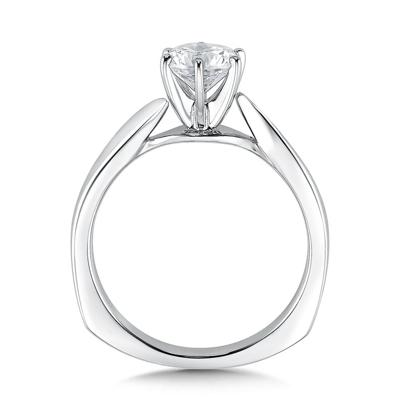 Valina Solitaire mounting .01 tw., 3/4 ct. round center.