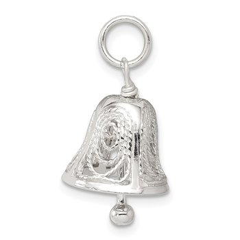 Sterling Silver Bell Charm