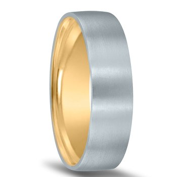 Men's Unique Inside Out Wedding Band - XNT16974