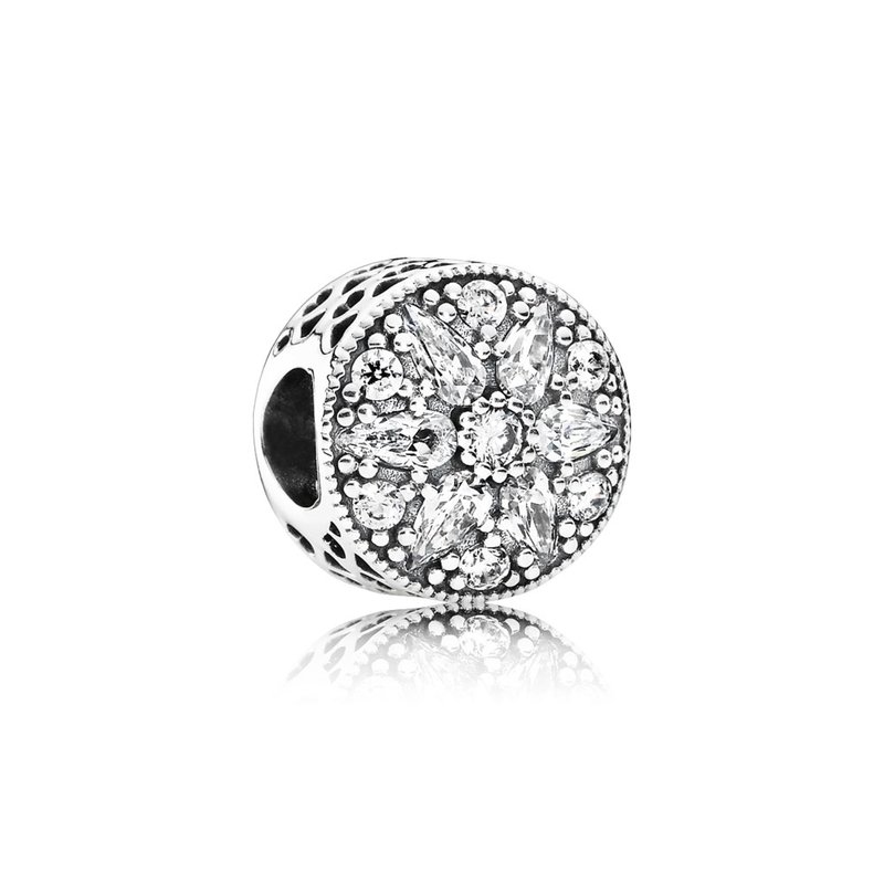 1d2ee0dae Saxon's Diamond Centers: PANDORA Radiant Bloom Charm, Clear Cz