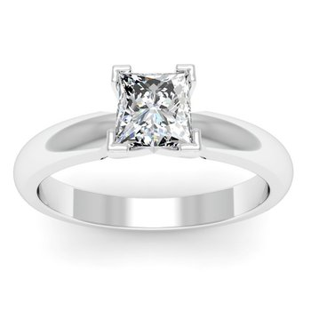 Classic Four Prong Engagement Ring