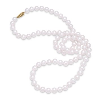 "8MM 30"" Freshwater Pearl Strand Necklace"