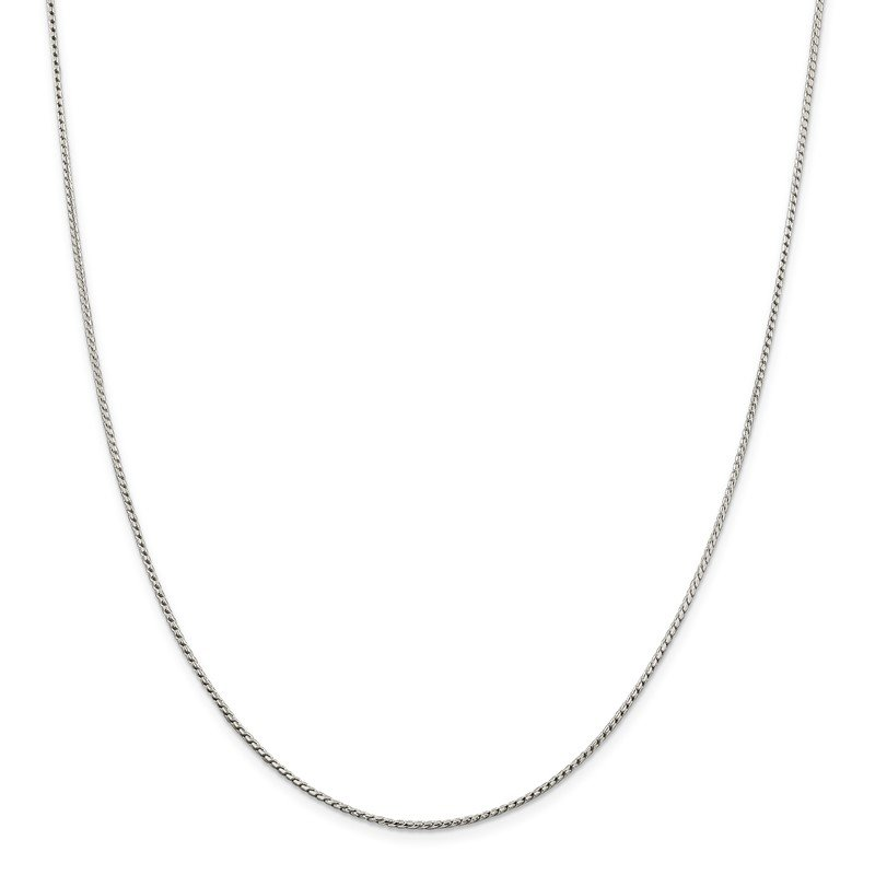 Lester Martin Online Collection Sterling Silver 1.25mm Round Franco Chain