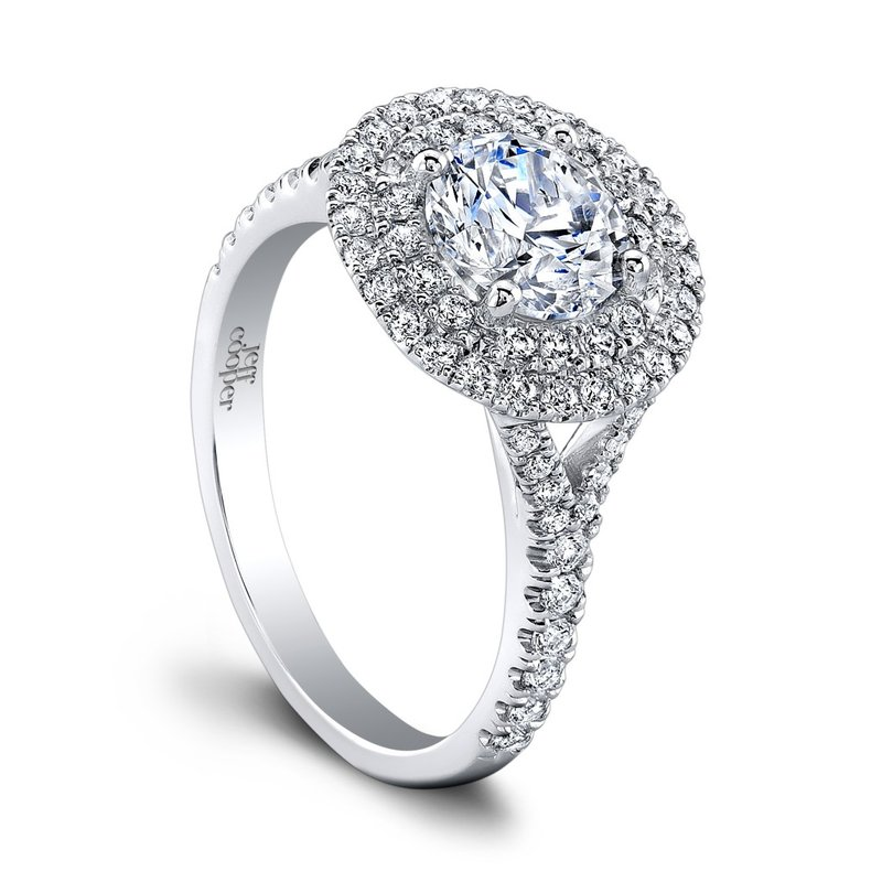 Jeff Cooper Tina Engagement Ring