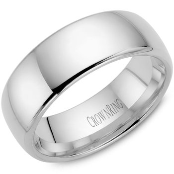 CrownRing Men's Wedding Band TDS14W8