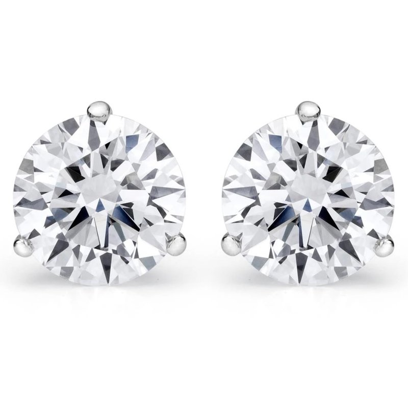 Prong Fmbr Martini Stud Earrings (.26Cttwt)