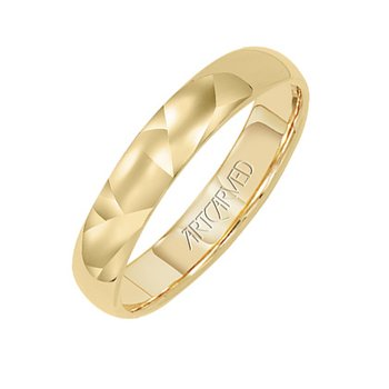 Domed Wedding Band