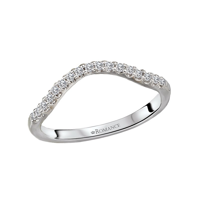 Romance Diamond Nesting Wedding Band