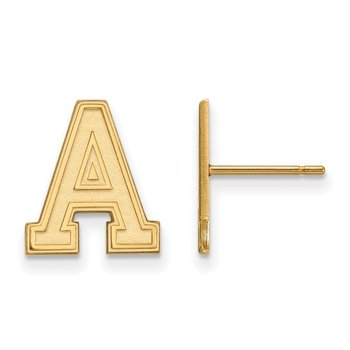 Gold-Plated Sterling Silver U.S. Military Academy NCAA Earrings