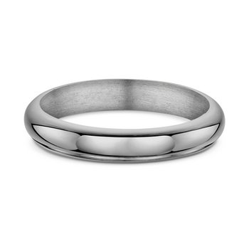 4nm Half Round Heavy Plain Wedding Band