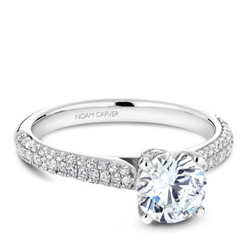 Noam Carver Vintage Engagement Ring B146-02A