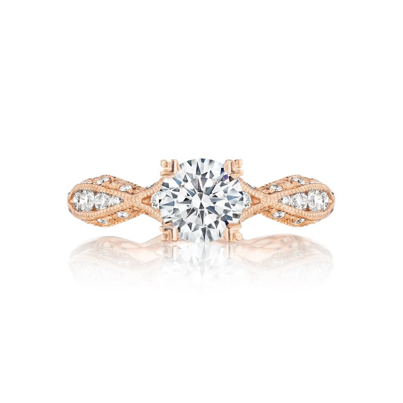 Classic Crescent Engagement Ring