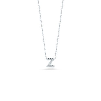 18Kt Gold Love Letter Z Pendant With Diamonds
