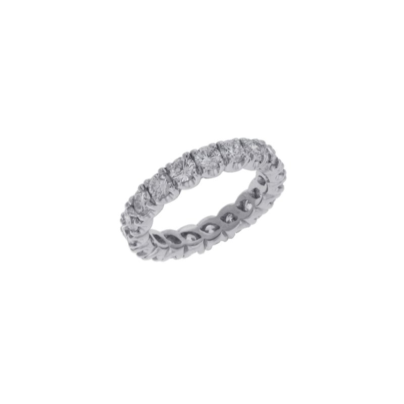 S. Kashi & Sons Bridal White Gold Eternity Ring