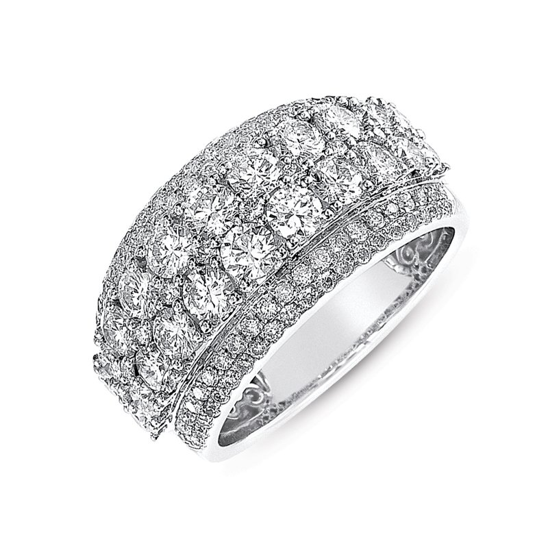 Briana White Gold Fashion Ring