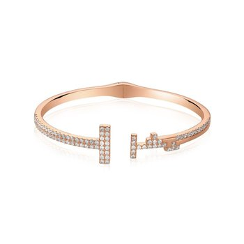 Two Bar Open Bangle